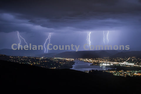 Wenatchee Lightning Strikes 2