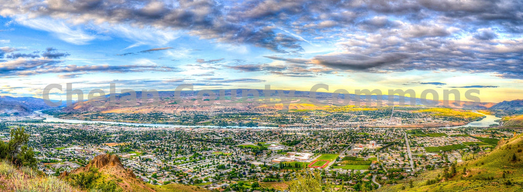 Wenatchee Valley Stunning Panorama , JPG Image Download - Brian Mitchell, Chelan County Commons