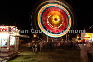 Apple Blossom Night Ferris Wheel , JPG Image Download - Travis Knoop, Chelan County Commons