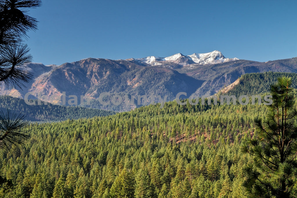 Big Jim Mountain View , JPG Image Download - Travis Knoop, Chelan County Commons
