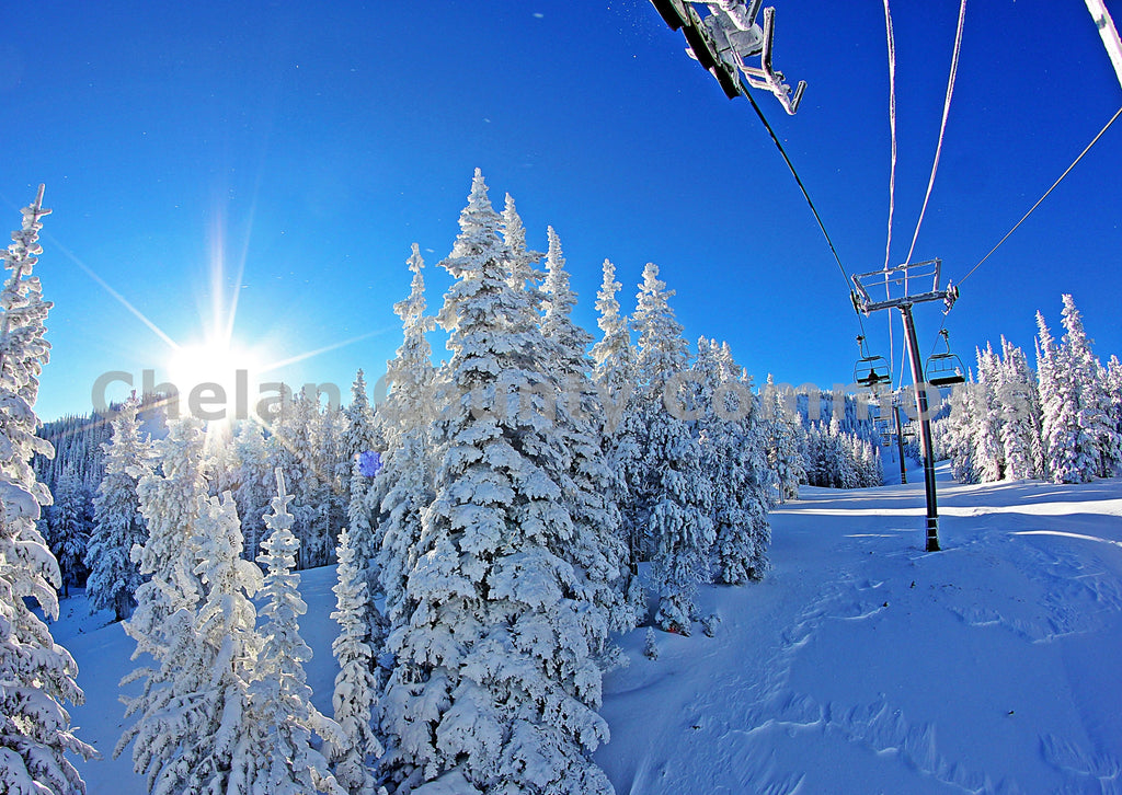 Bluebird Chairlift , JPG Image Download - Jared Eygabroad, Chelan County Commons
