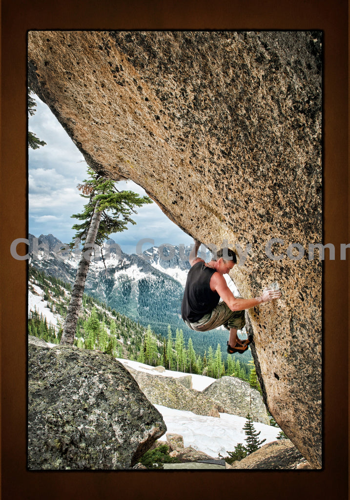 Free Climbing in Leavenworth , JPG Image Download - Heidi Swoboda, Chelan County Commons