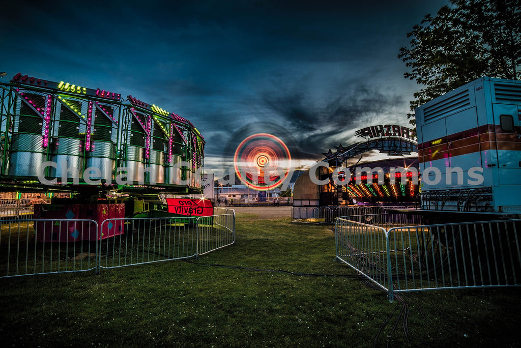 Carnival at Night , JPG Image Download - Brian Mitchell, Chelan County Commons