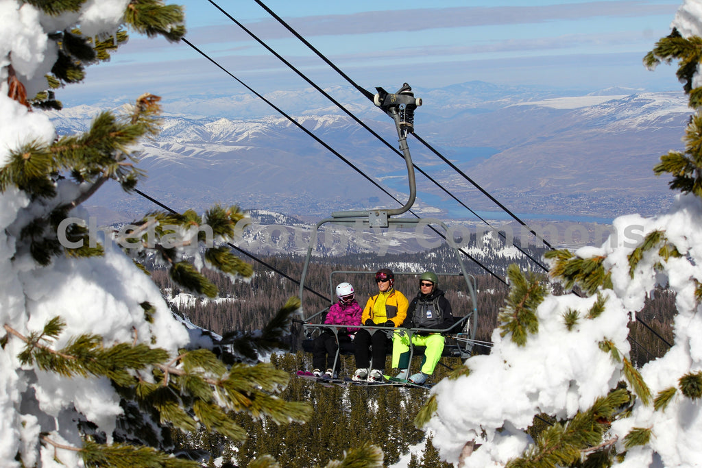 Chairlift Over Columbia , JPG Image Download - Jared Eygabroad, Chelan County Commons
