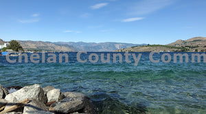 Clear Waters Lake Chelan Shore , JPG Image Download - Richard Uhlhorn, Chelan County Commons