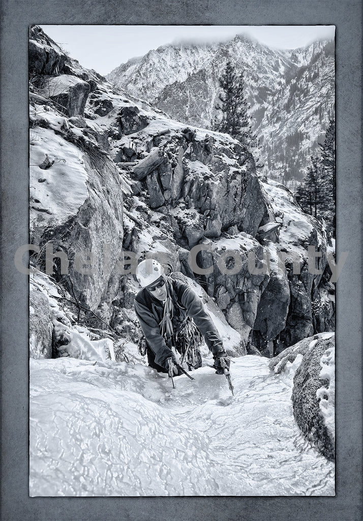 Ice Climber in Leavenworth , JPG Image Download - Heidi Swoboda, Chelan County Commons