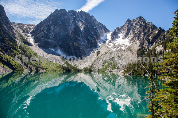 Colchuck Lake , JPG Image Download - Travis Knoop, Chelan County Commons