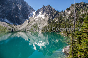 Colchuck Lake Trees , JPG Image Download - Travis Knoop, Chelan County Commons