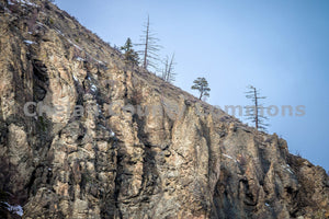 Desert Winter Rocks & Cliffs , JPG Image Download - Brian Mitchell, Chelan County Commons