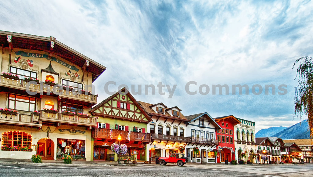 Downtown Leavenworth , JPG Image Download - Heidi Swoboda, Chelan County Commons