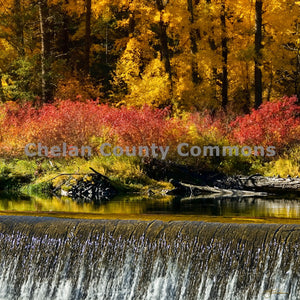 Tumwater in The Fall , JPG Image Download - Heidi Swoboda, Chelan County Commons
