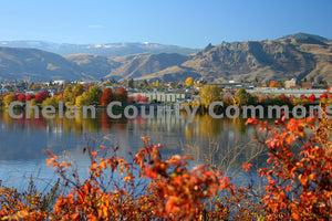 Fall Colors on The Columbia , JPG Image Download - Travis Knoop, Chelan County Commons