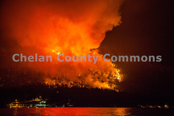 First Creek Fire Epic , JPG Image Download - Travis Knoop, Chelan County Commons