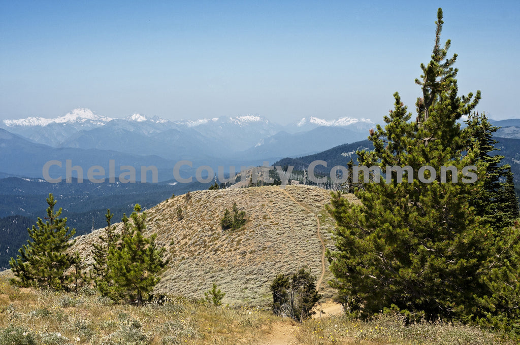 Glacier Peak in the Distance , JPG Image Download - Heidi Swoboda, Chelan County Commons