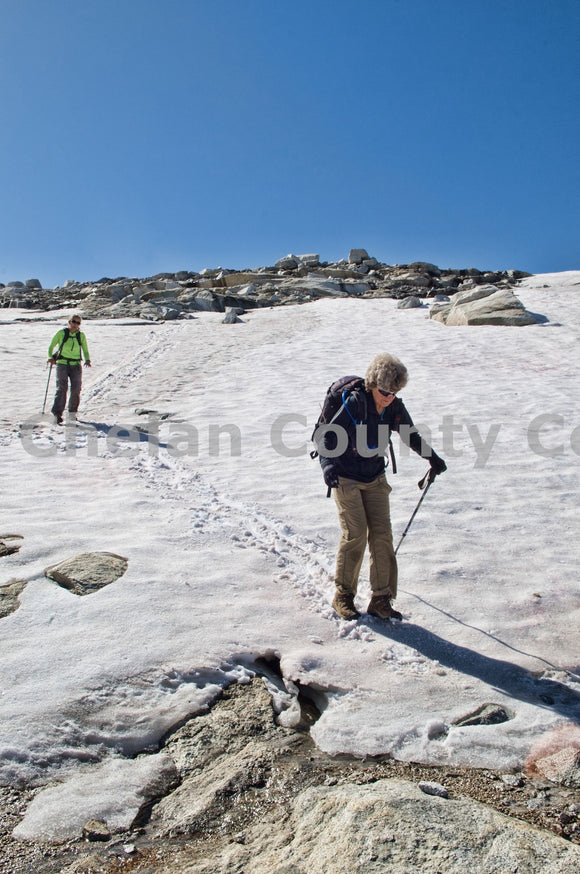 Glissading The Enchantments , JPG Image Download - Heidi Swoboda, Chelan County Commons