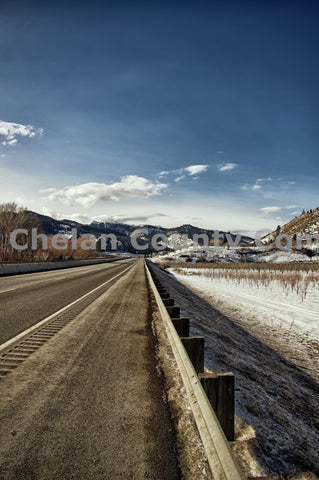Highway 2 Winter Landscape