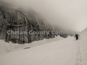 Snow Hike Colchuck , JPG Image Download - Travis Knoop, Chelan County Commons