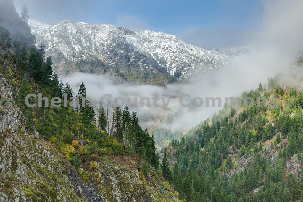 Icicle Valley Rainbow , JPG Image Download - Travis Knoop, Chelan County Commons