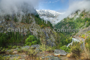 Icicle Creek Road , JPG Image Download - Travis Knoop, Chelan County Commons