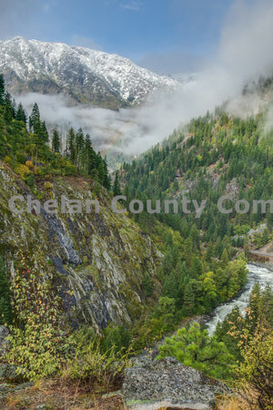 Icicle Creek Scenic Vertical , JPG Image Download - Travis Knoop, Chelan County Commons