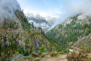 Icicle Canyon Mist , JPG Image Download - Travis Knoop, Chelan County Commons