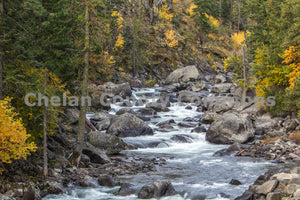 Fall Icicle Creek Boulders , JPG Image Download - Travis Knoop, Chelan County Commons