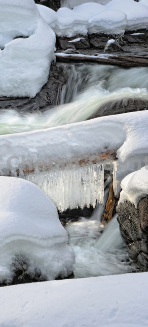 Frozen Icicle Creek , JPG Image Download - Heidi Swoboda, Chelan County Commons