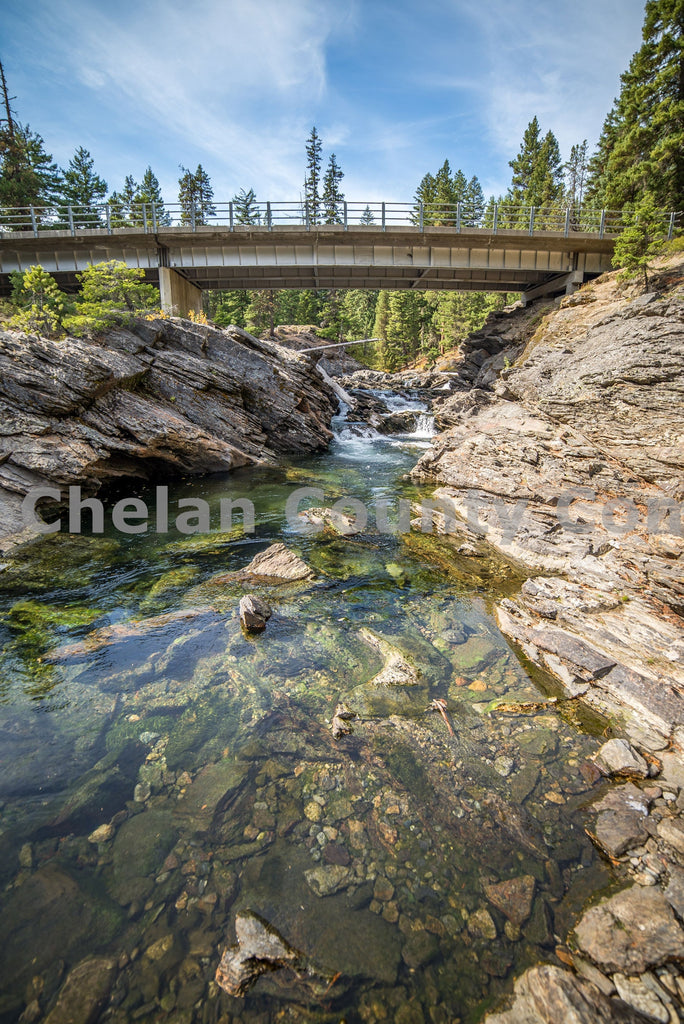 Icicle Creek Clear Water , JPG Image Download - Brian Mitchell, Chelan County Commons