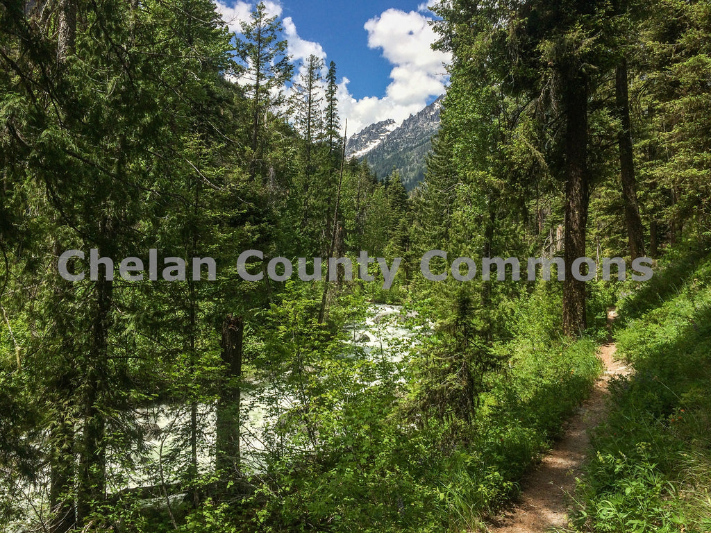 Ingalls Creek Trail - Horizontal , JPG Image Download - Travis Knoop, Chelan County Commons