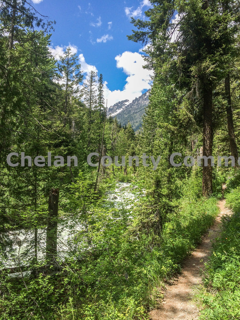 Ingalls Creek Trail - Vertical , JPG Image Download - Travis Knoop, Chelan County Commons