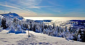 Inversion Layer Summit View @ Mission Ridge , JPG Image Download - Jared Eygabroad, Chelan County Commons