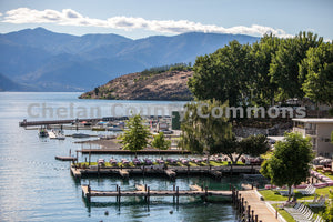 Docks Along Lake Chelan , JPG Image Download - Travis Knoop, Chelan County Commons