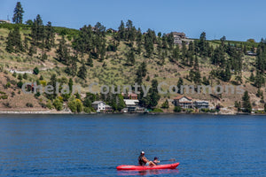 Kayaking Across Lake Chelan , JPG Image Download - Travis Knoop, Chelan County Commons