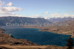 Lake Chelan Landscape , JPG Image Download - Travis Knoop, Chelan County Commons