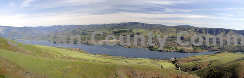 Lake Chelan Green Panorama