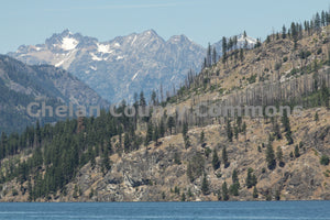 Mountains Above Lake Chelan , JPG Image Download - Travis Knoop, Chelan County Commons