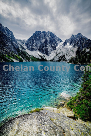 Lake Colchuck , JPG Image Download - Brian Mitchell, Chelan County Commons