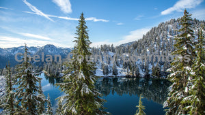 Lake Valhalla - Wide , JPG Image Download - Travis Knoop, Chelan County Commons