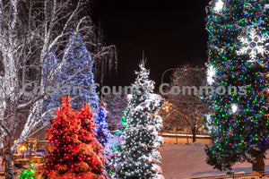 Leavenworth Christmas Lights , JPG Image Download - Travis Knoop, Chelan County Commons