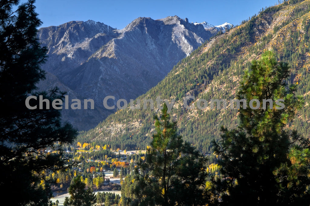 Leavenworth Fall River Valley , JPG Image Download - Travis Knoop, Chelan County Commons