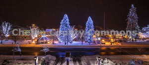 Leavenworth Christmas Lights Landscape , JPG Image Download - Travis Knoop, Chelan County Commons