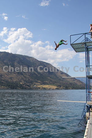 Backflipping Into Lake Chelan , JPG Image Download - Travis Knoop, Chelan County Commons