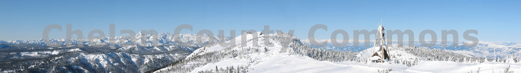Mission Ridge Panorama , JPG Image Download - Keith Mickelson, Chelan County Commons