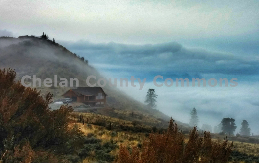 Misty Mountains , JPG Image Download - Jared Eygabroad, Chelan County Commons