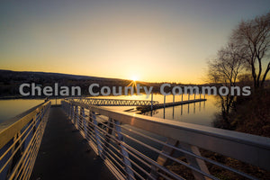 Morning Sunrise Columbia Dock , JPG Image Download - Brian Mitchell, Chelan County Commons