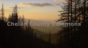Wenatchee Mountain Scape , JPG Image Download - Travis Knoop, Chelan County Commons