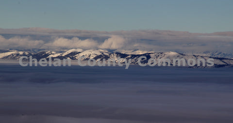 Scenic Inversion Layer Mountains