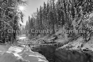 Nason Creek Winter , JPG Image Download - Travis Knoop, Chelan County Commons