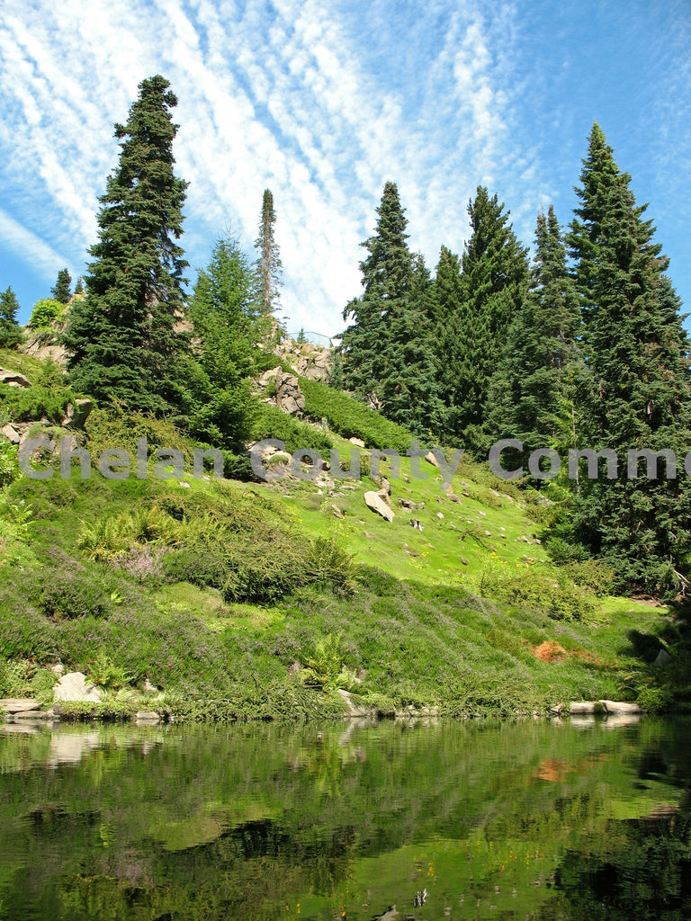 Ohme Gardens Lake , JPG Image Download - Keith Mickelson, Chelan County Commons