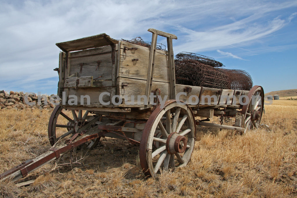 Old Farm Equipment , JPG Image Download - Keith Mickelson, Chelan County Commons